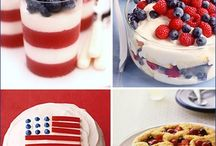 Fourth of July! / Red, white, and blue stuff for 4th of July! Happy Independence Day. Let those fireworks fly, America!