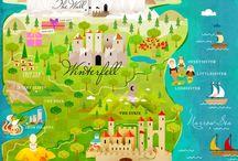 maps illustrated