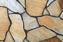 Dzikówka / Ozdobny kamień wykorzystywany do wnętrz oraz ścieżek ogrodowych.