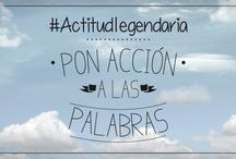 #ActitudLegendaria / frase