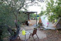 Campings Tarragona / De leukste kampeerplekken / natuurcampings in de Catalaanse provincie Tarragona en soms daarbuiten.