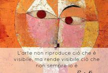 Parlami d'Arte / Le parole famose d'artista con i capolavori dell'arte contemporanea mondiale