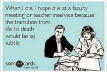 Teacher Humor / Because somewhere between Winter Break and Summer you just need to SMILE.