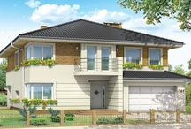Projekty domów z piwnicą / Piwnica nigdy nie jest tania w realizacji , ale często bardzo potrzebna , lub wręcz konieczna w domu . Mówi się , że prawdziwy dom powinien mieć przyzwoitą piwnicę i strych , bo przestrzeni gospodarczej nigdy dość  - i coś w tym jest . W piwnicy może zmieścić się cała masa pomieszczeń , której nie da się upchnąć na parterze , ani nawet w dodatkowym garażu . / by MG Projekt | Projekty Domów