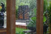 Doccia con getto a pioggia