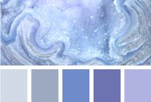 Hues/Tones / Colour combinations and palettes that inspire me