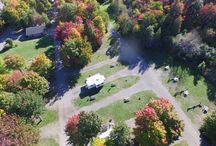 Aerial View of Glenview / Beautiful Aerial photos of Glenview's property in the fall