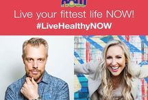 #LiveHealthyNOWpledge / Pledge to live your fittest life NOW! We're giving you exclusive content from top wellness experts to help you reach your healthiest self.