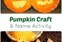 Halloween activities / Preschoolers Halloween ideas