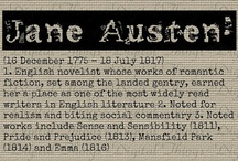 """Jane Austen / """"The person, be it gentleman or lady, who has not pleasure in a good novel, must be intolerably stupid."""" - Jane Austen"""