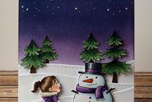 Frosty Friends / SugarPea Designs - Frosty Friends Stamp Set Inspiration