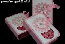 Boxes for favors, candy etc. / by Cindy Davis