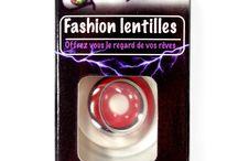 Lentilles Fantaisie / notre gamme de lentilles fantaisie