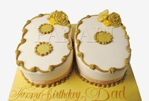 Alphabets & Number Cakes by Panari