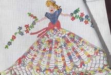 Crochet Patterns Vintage Retro Modern Free Inspirations / by Vintage Patterns Dazespast