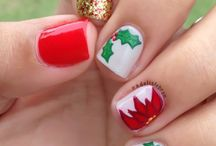 Christmas nails / by Angie Rhodes