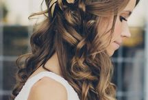 Hair and wedding stuff / Wedding stuff