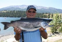 Fishing @ Wallowa Lake / Do you love to fish? Wallowa Lake and Wallowa County offer some pretty great fishing spots...and the views aren't bad either!