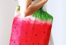 Crafts made with dye! / These craft projects are made using fabric dye. So simple to use, and so versatile.