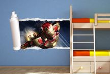 iron man bedroom