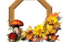 Podzimní dekorace / dekorace vlastní výroby