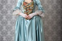 Rococo green dress (18th century)