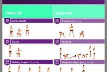 Kayla workouts week 1&3