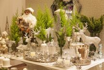 MESAS DE NATAL / CHRISTMAS INSPIRATIONS, DECORATIONS AND TABLESCAPE