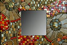 Mosaic Mirrors - (I offer classes)
