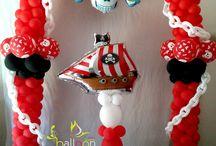 Balões - Piratas