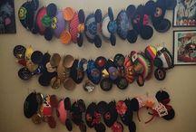 Disney ear hats and headband display ideas
