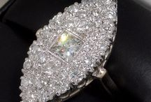 DIAMONDS ARE FOREVER / Enjoy a browse through some gorgeous, diamond only, vintage and estate jewelry.