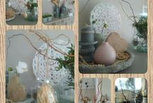decorations: easter...