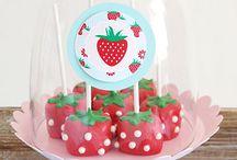 Anniversaire Charlotte aux fraises / Des idées pour réaliser l'anniversaire de votre enfant sur le thème de la série télévisée américaine Charlotte aux fraises #Strawberry Shortcake (Kids birthday)