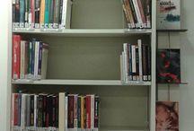NKITIS14 Varissuon kirjasto / Aineistoesittelyä Varissuon kirjastossa, kuvattuna kännykkäkameralla 4.2.2015. #varissuo #kirjasto #aineistoesittely #nkitis14