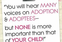 Adoptees / Adoptees share their perspective about adoption and being raised as an adoptee.