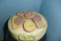 B / feito em biscuit