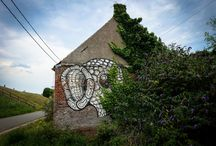 urban art – ghostvillage doel, belgium