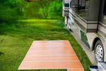 The RV Deck  / With four styles and four sizes available, there is an RV Deck for every taste and RV lifestyle  http://deckedoutrvproducts.com/