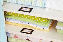 Nursery organization/ideas / by Christy Briand