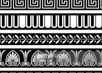 greek ornaments/greek vases