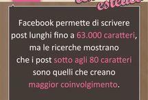 Facebook per il centro estetico / Consigli e Trucchi per usare al meglio la tua pagina Facebook aziendale.