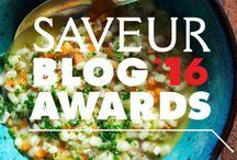 Saveur Blog Awards '16 / Nominate Your Favorite Blogs for the 2016 SAVEUR Blog Awards, running until July 18!
