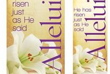 Easter Church Banners / Exclusive Easter Banner Designs from PraiseBanners.com