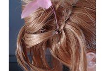 pics cheveux mariage en couleur
