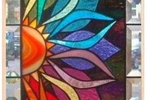 Staind glass quilts
