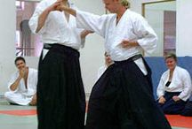 Aikido / Aikido is a Japanese martial art developed by Morihei Ueshiba as a synthesis of his martial studies, philosophy, and religious beliefs.