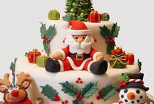 Cake design Natalizio / Torte decorate per Natale