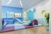 Preschool interiors
