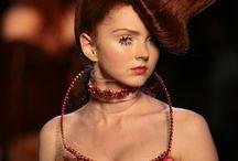 Coiffure haute couture